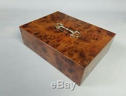 Ralph Lauren Rare Luxury Italian Limited Edition Brown Barnard Ronce Box