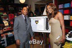 Ralph Lauren Violet Étiquette Ludacris Foundation Limited Edition Tie New 250 $
