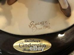 Rare! Giuseppe Armani Walt Disney Cendrillon En Haillons Limited Edition 223/1500