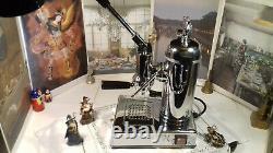 Rare Zacconi Riviera Spring Chrome Levier Espresso Machine Re-edition