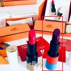 Rouge Hermé Paris Limited Edition No 94 Satin Violet Insense Rouge À Lèvres Nouveau Dans Le Sac