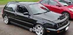 Sacex/eurostop Spoiler Toit En Caoutchouc Vw Golf Mk3, Qualité Et Ajustement Impressionnants