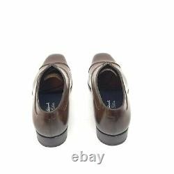 Santoni Limited Edition Brown Leather Mens Shoes, Pdsf 1750 $