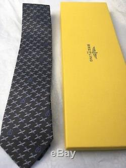 Special Editionbreitling Professionnels Authentique Flying Noir B Tie