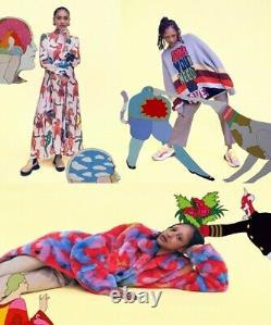 Stella Mccartney Beatles Édition Virgin Pull En Laine 38 Bnwt Grey Rrp £ 760