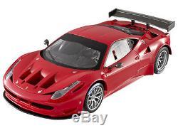 Super Elite Ferrari 458 Italia Gt2 Lancement Version Rouge 1/18 Voiture Hotwheels X5491