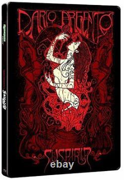Suspiria Steelbook Blu-ray Collector's Edition, 3 Disques