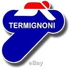 Termignoni Cri Black Edition Plein D'échappement + Cat Yamaha Tmax 530 2017-2018