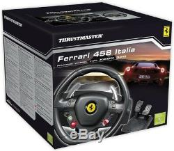 Thrustmaster Ferrari 458 Italia Racing Wheel Édition Pour Pc Nouveaux Jeux Xbox