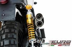 Triumph Scrambler Jusqu'en 2016 Zard Échappement Complet Du Système Silencer Special Edition