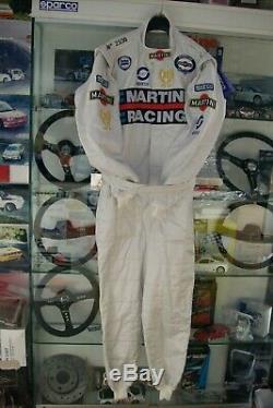 Tuta Rallye Lancia Martini Racing Miki Biasion Sparco Limited Edition Omologata