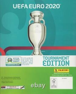 Uefa Euro 2020 Tournament Edition Compete Set 654 + Album Vide, Blue Editiona