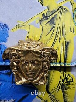 Versace Limited Edition! Magna Grecia Pop Empire Palazzo Handbag-seulement 100 Made