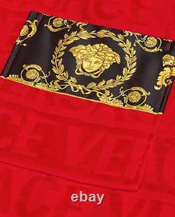 Versace Red/gold I Baroque Bathrobe Limited Edition 4xl Non Disponible En Ligne