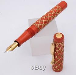 Visconti Alhambra Gold 155 / 288pcs Édition Limitée Fountain Pen