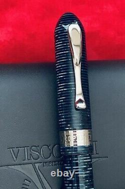 Visconti Copernicus Limited Edition 345/999 Funtain Pen Azure Blue Ca. 1996