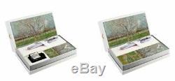Visconti Van Gogh Ensemble-cadeau Stylo-plume Orchard Blossom En Limited Edition 299 $